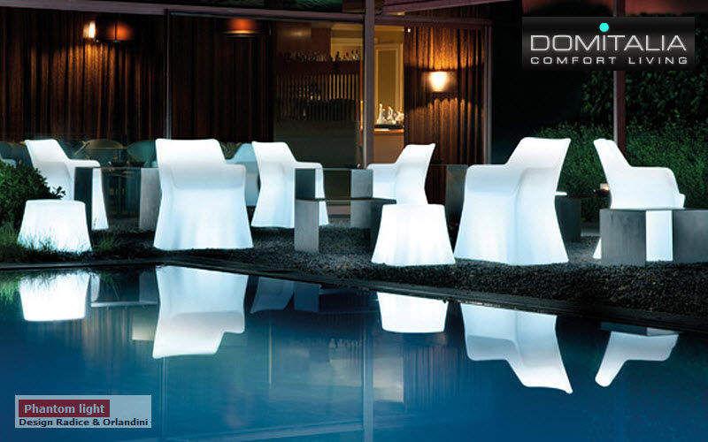 Domitalia Luminous garden armchair Outdoor armchairs Garden Furniture  |