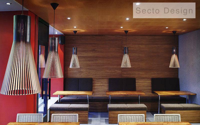 SECTO DESIGN Hanging lamp Chandeliers & Hanging lamps Lighting : Indoor Dining room |
