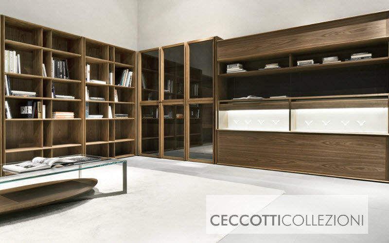 Ceccotti Collezioni Open bookcase Bookcases Storage Home office | Design Contemporary