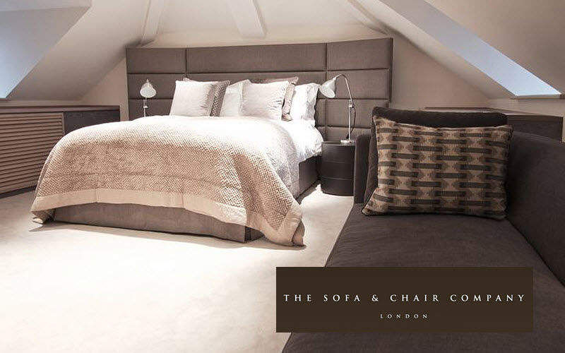THE SOFA AND CHAIR COMPANY Double bed Double beds Furniture Beds Bedroom | Design Contemporary