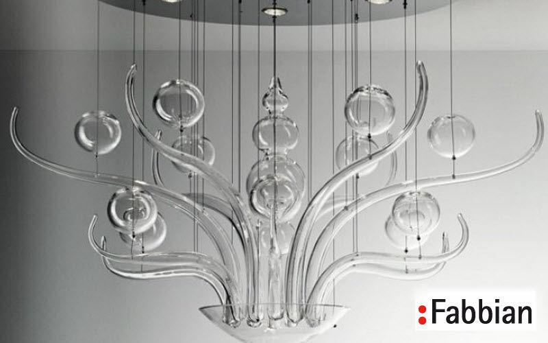 Fabbian Chandelier Murano Chandeliers & Hanging lamps Lighting : Indoor  |