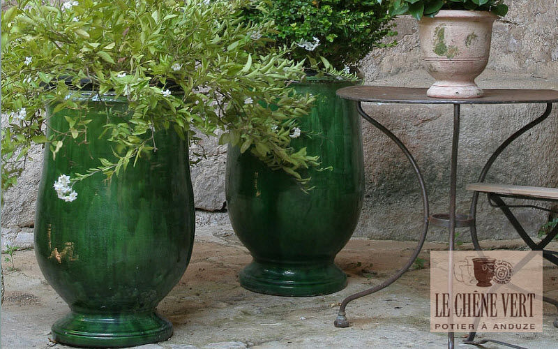 Le Chene Vert Jar Flowerpots Garden Pots Balcony-Terrace   Cottage