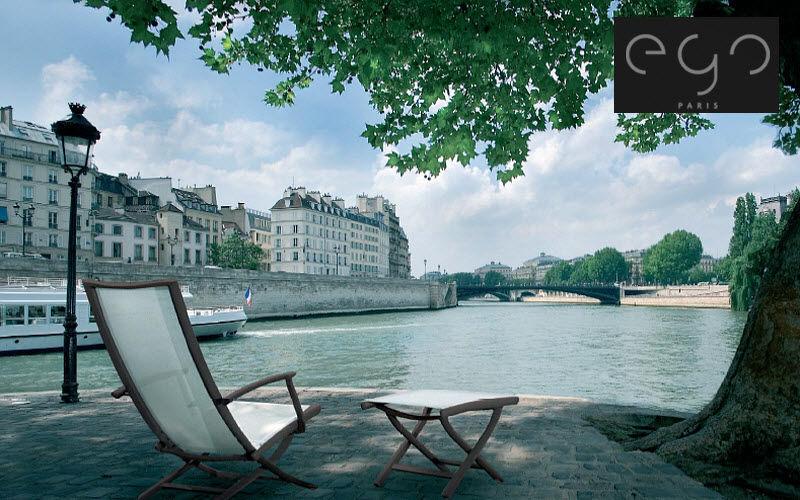 EGO Paris Deck chair Garden chaises longues Garden Furniture  |