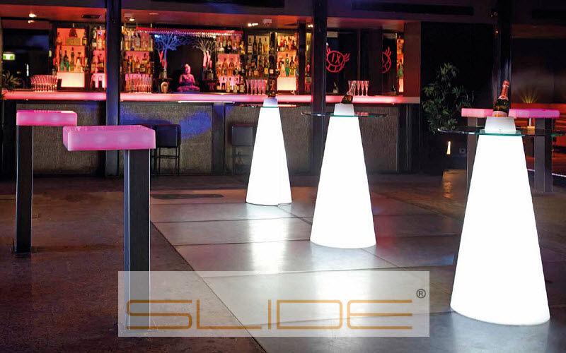 SLIDE Garden side table Garden tables Garden Furniture Workplace |