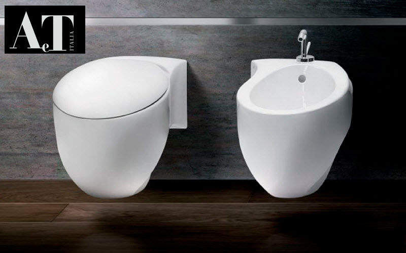 AeT Wall mounted toilet WCs & wash basins Bathroom Accessories and Fixtures   