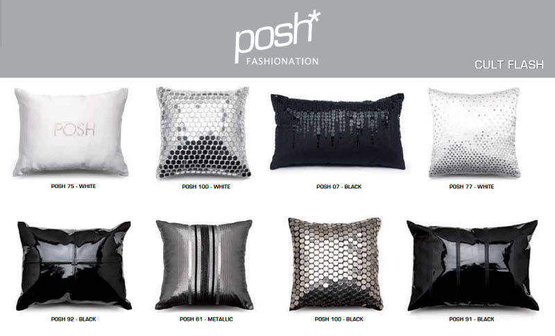 POSH FASHIONATION Rectangular cushion Pillows & pillow-cases Household Linen  |