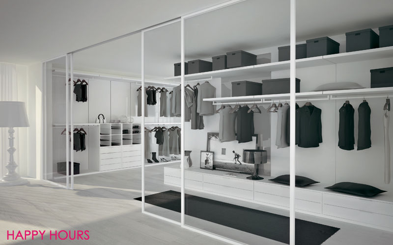HAPPY HOURS Dressing in U Dressing rooms Wardrobe and Accessories Bedroom | Design Contemporary