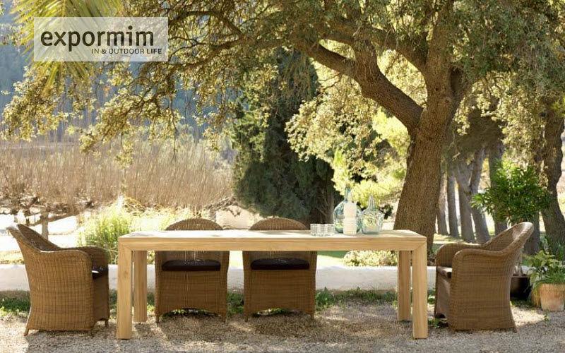 EXPORMIM Outdoor dining room Garden tables Garden Furniture  |