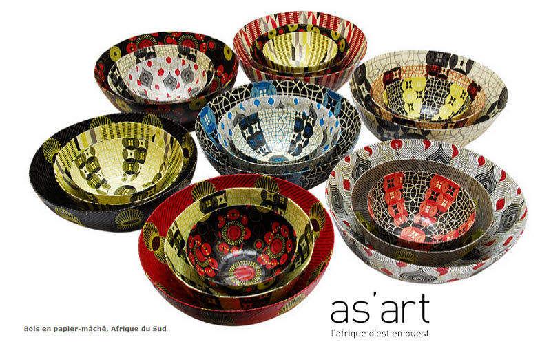 As'art L'afrique D'est En Ouest Bowl Bowls Crockery  | Elsewhere