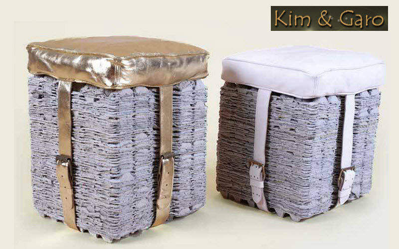 Kim & Garo Puff chest Footstools and poufs Seats & Sofas  |