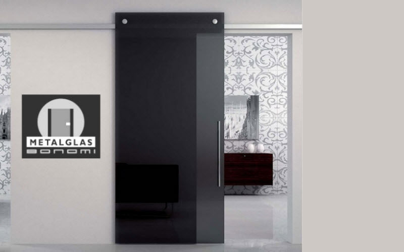 METALGLAS BONOMI Internal sliding door Doors Doors and Windows  |