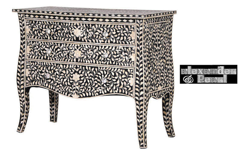 ALEXANDER PEARL Sauteuse drawer chest Chest of drawers Storage  |