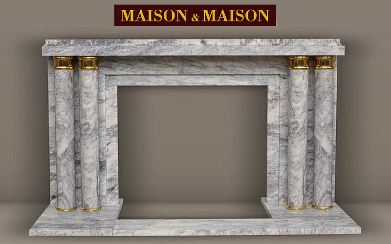 MAISON & MAISON Open fireplace Fireplaces Fireplace  |
