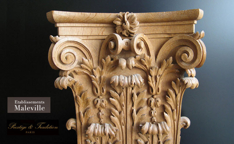 MALEVILLE Column capital Architectural elements Ornaments  |