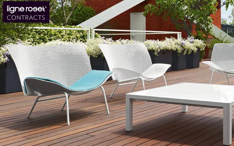 Ligne Roset Contracts Garden armchair Outdoor armchairs Garden Furniture  |