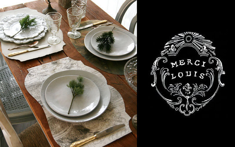 MERCI LOUIS Place mat Table sets Table Linen  |
