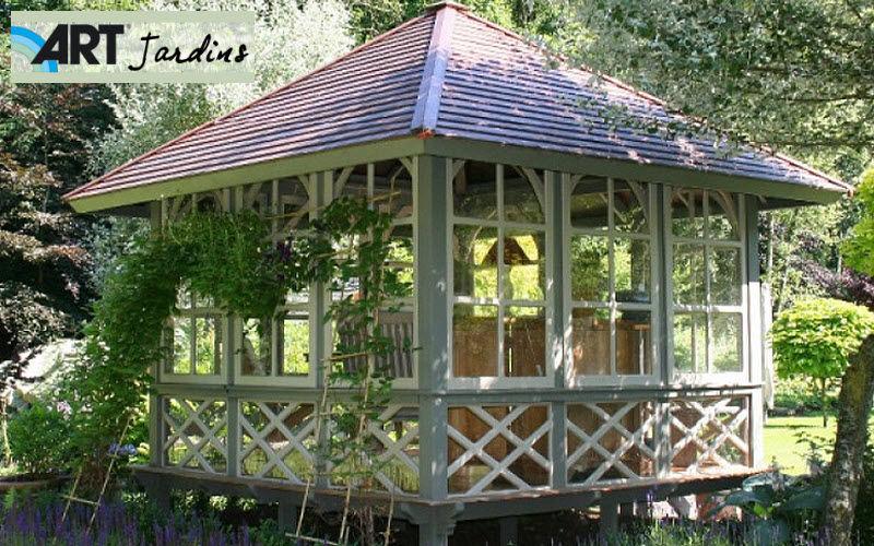 ART JARDINS Wood garden shed Shelters and summer houses Garden Gazebos Gates...  |