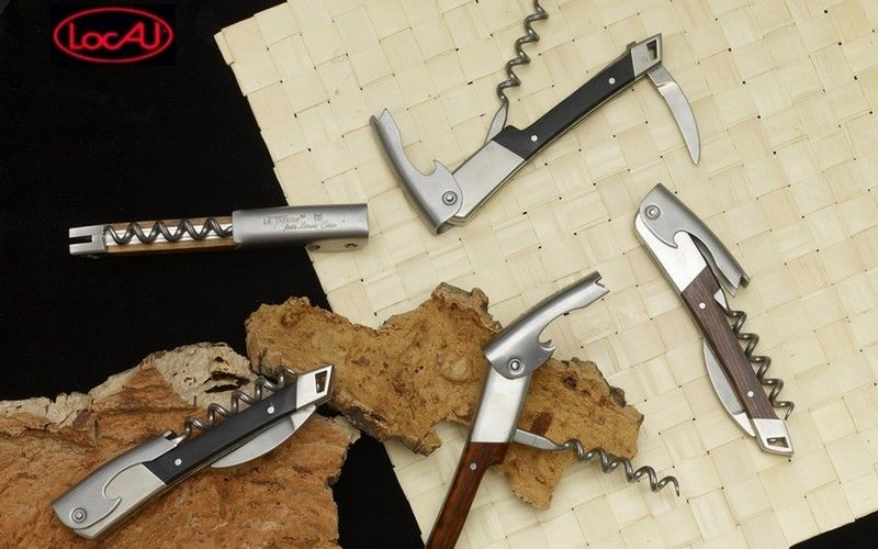 LOCAU Corkscrew with knife Knives Cutlery  |