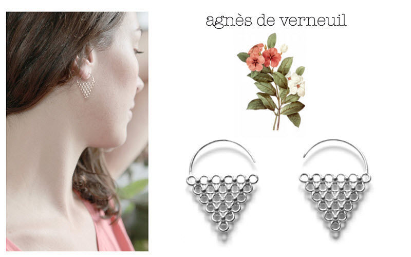 AGNES DE VERNEUIL Earring Jewelry Beyond decoration  |