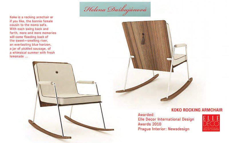 HELENA DARBUJÁNOVÁ Rocking chair Armchairs Seats & Sofas  |
