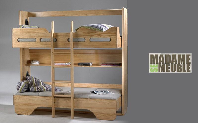 Madame se Meuble Children bunk bed Children's beddrooms Children's corner  |