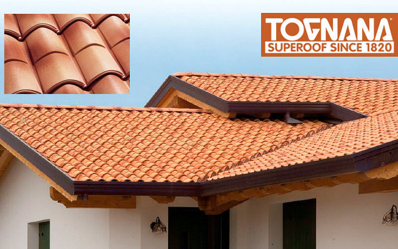 TOGNANA SUPEROOF Spanish roof tile Facades and roofs Garden Gazebos Gates...  |