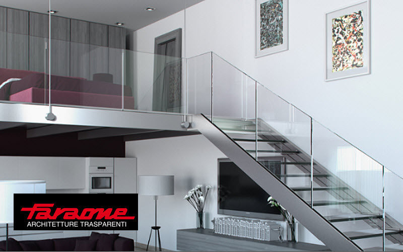 FARAONE Straight staircase Stairs and ladders House Equipment   