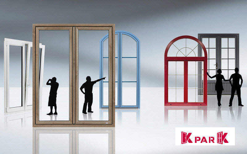 K Par K 2 door glass door French windows Doors and Windows  |