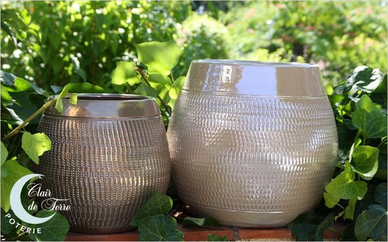 Les Poteries Clair de Terre Flower container Containers Garden Pots Balcony-Terrace   Design Contemporary