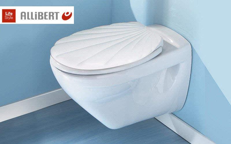 Allibert Toilet seat WCs & wash basins Bathroom Accessories and Fixtures  |