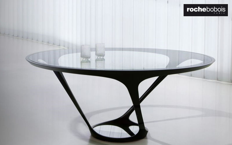 ROCHE BOBOIS Round diner table Dining tables Tables and Misc.  |