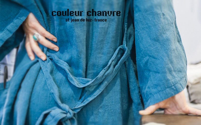 Couleur Chanvre kimono-style bathrobe Bathroom linen Household Linen  |