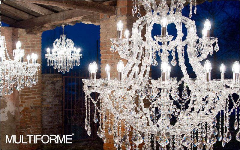 MULTIFORME Chandelier Murano Chandeliers & Hanging lamps Lighting : Indoor  |
