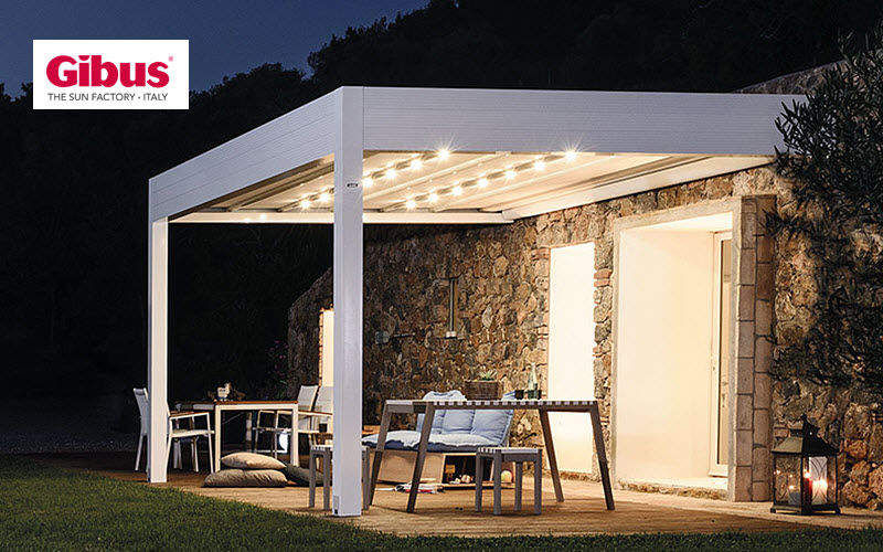 Gibus Attached Pergola Huts and gazebos Garden Gazebos Gates...  |