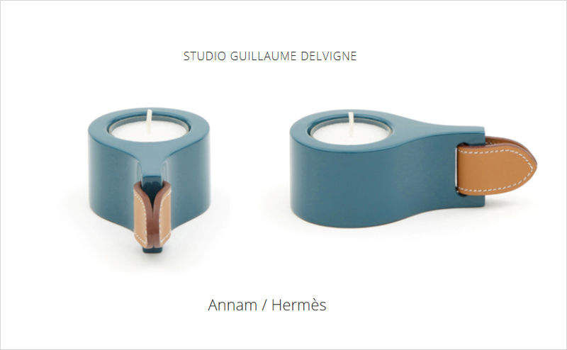 GUILLAUME DELVIGNE Candlestick Candles and candle-holders Decorative Items  |