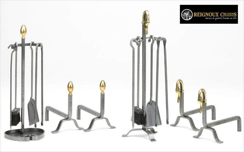 Reignoux Creations Andiron Fireside accessories Fireplace  |