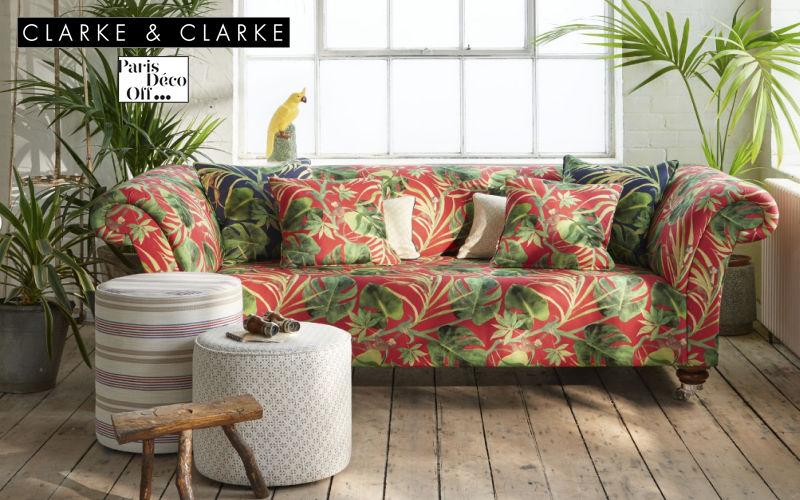 CLARKE & CLARKE Furniture fabric Furnishing fabrics Curtains Fabrics Trimmings  |