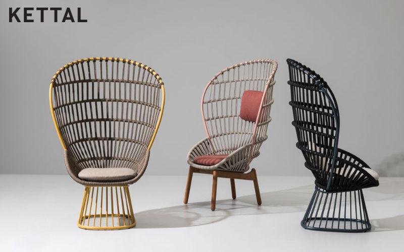 Kettal Garden armchair Outdoor armchairs Garden Furniture  |