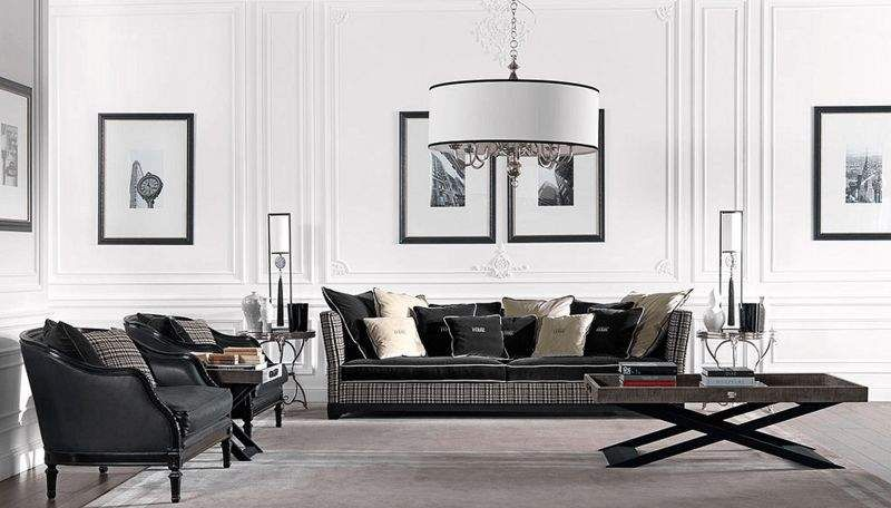 GIANFRANCO FERRÉ HOME Lounge suite Drawing rooms Seats & Sofas Living room-Bar | Design Contemporary