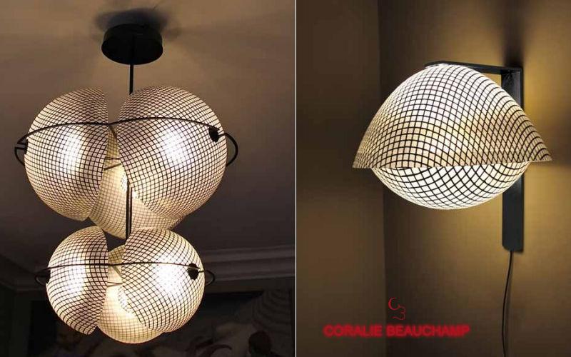 CORALIE BEAUCHAMP Wall lamp Interior wall lamps Lighting : Indoor   