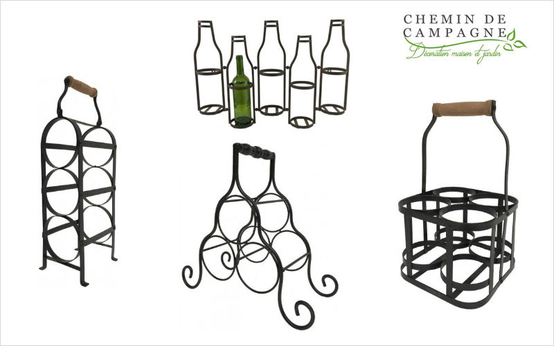 CHEMIN DE CAMPAGNE Wine bottle tote Storage Kitchen Accessories  |