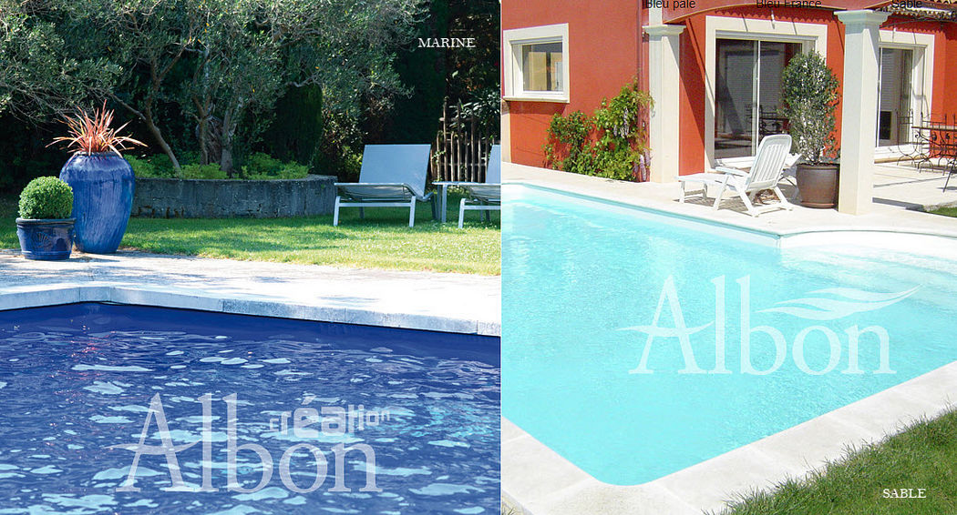 Albon Liner Surface materials Swimming pools and Spa  |