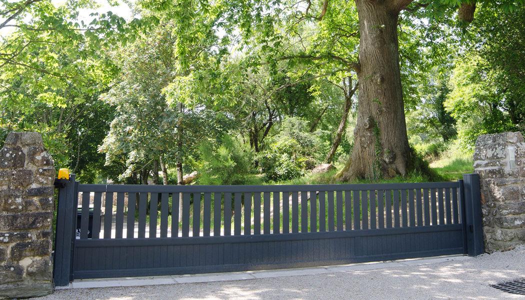 Cadiou Sliding gate Gates and entrances Garden Gazebos Gates...  |