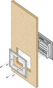 Anemostat Ventilation grid