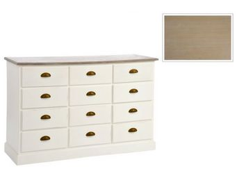 J-line - commode 12 tiroirs elly - Drawer Chest