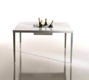 Garden table-BYSTEEL-refroidisseur de bouteilles