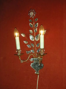 Philippe de Beauvais - bagues - Wall Lamp