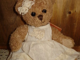 au petit coeur d'amour - caroline - Collectible Bear