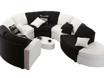 Miliboo - u2y3 canape pt interrogation 10 pl - Adjustable Sofa