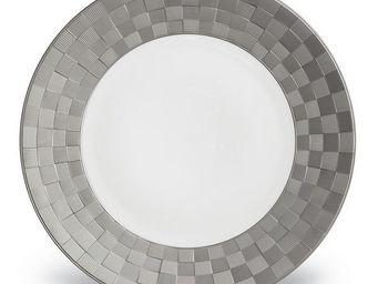 L'OBJET - byzanteum platinum dinnerware - Dinner Plate